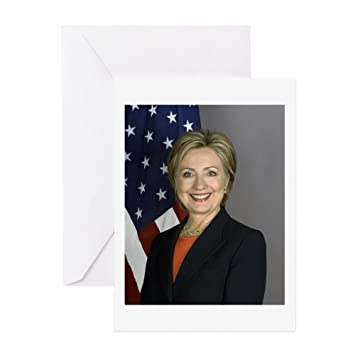 Amazon Cafepress Hillary Clinton Greeting Card 10 Pack