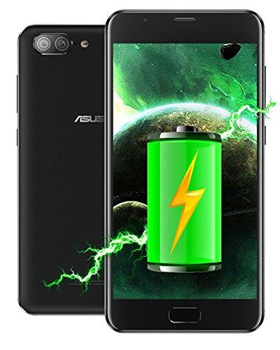 Asus Zenfone 4 Max Plus 5000mAh ZC550TL (32GB. 3GB) International Version, No Warranty (Black)