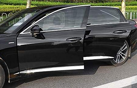 Momoap ABS Chrome Car Body Door Side Molding Trim sill Cover Guard for Porsche Panamera 2017-2021