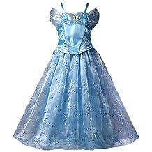 Pettigirl Girls Costume Queen Party Halloween Butterflies Princess Dress 4-8Y