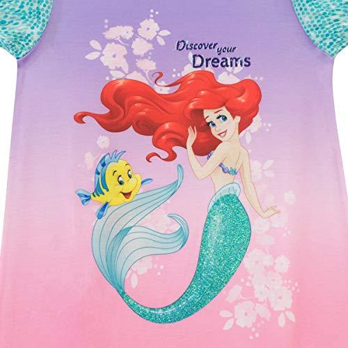 Disney M/ädchen The Little Mermaid Nachthemden