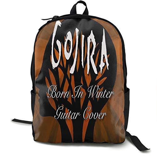 YUSDTT Gojira L'Enfant Sauvage Lightweight Printed School Backpack Water Resistant Travel Rucksack Bag Laptop Backpack Daypack