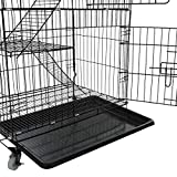AVEEN 3-Tier Small Cat Cage Playpen Box Kennel
