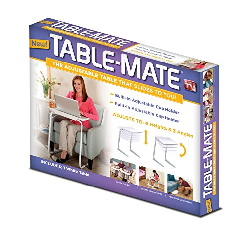 Table-Mate Folding Table (White)