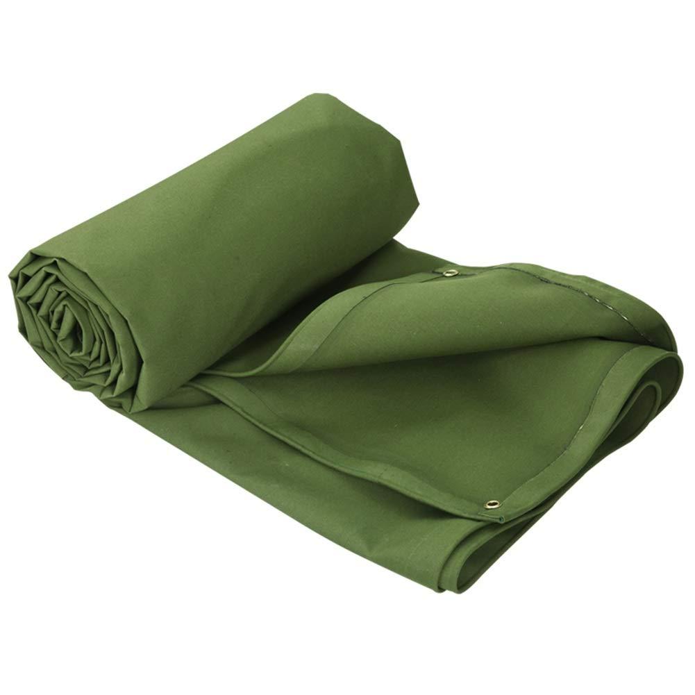 2M×1.5M  Tent, tarpaulin Couverture de bÂche résistante Verte, épaississant et imperméable, idéale pour Les abris de bÂche, de Bateau, de Camping-voiture ou de Piscine