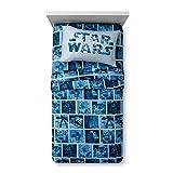 Jay Franco Star Wars - Juego de sábanas, diseño clásico, Color Azul
