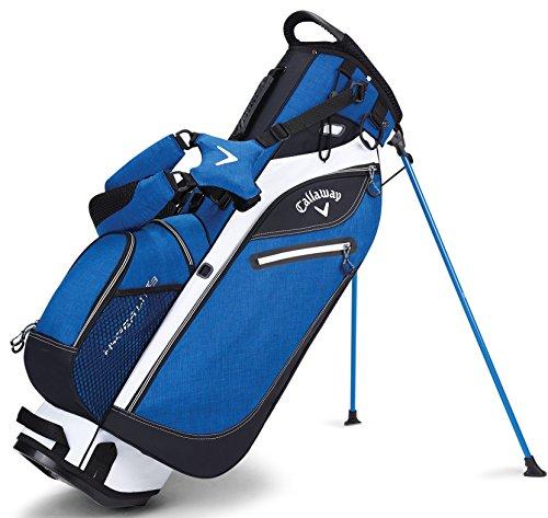 Callaway Golf 2017 Hyperlite 3 Stand Bag, Double Strap, Grey/Black/White