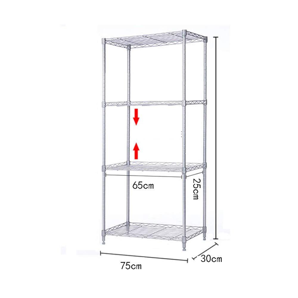HUO 7030CM Kitchen Rack Floor Shelf Rack (Size : 90C) by Kitchen shelf (Image #4)