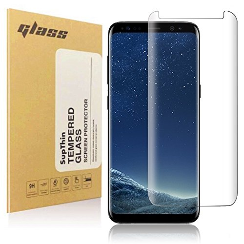 Samsung Galaxy S8 Panzerglas, Supthin Vollständige Abdeckung Ultra-klar Schutzfolie für Schutzfolie,Glasfolie Hartglas 9H Panzerglas (0,25)mm Panzerglasfolie für