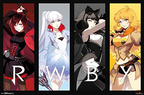 [Trends International Rwby Girls Wall Poster 22.375