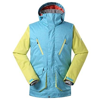 KD Invierno de Hombres Traje de esquí Caliente Impermeable y frío ...