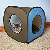 Kitty City Pop-up Cat Cube, Cat Toys