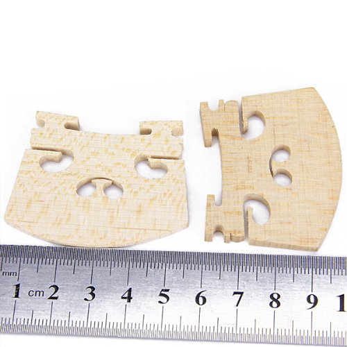 TOOGOO(R) 2¡ÁMaple Violin Bridge 4/4 by TOOGOO(R) (Image #5)