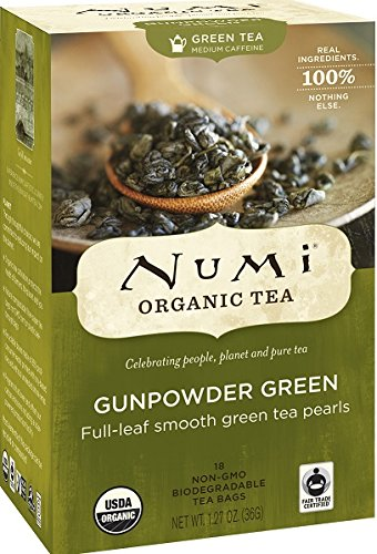 Numi Organic Tea Gunpowder Green - foods that reduce inflammation swelling