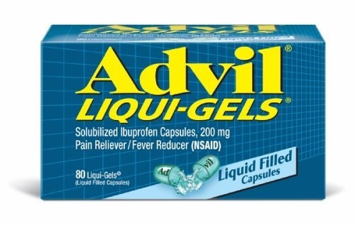 Advil Pain Relief - Liquid Gels 80 Tablets