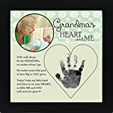 Baby Child Keepsake Handprint Frame with Poetry - Mommy, Daddy, Grandma or Grandpa (Grandma) by The Grandparent Gift Co.