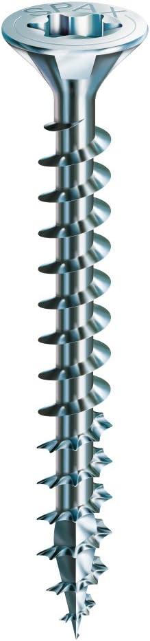 3,5 x 16 mm 200 Unidades SPAX Tornillo cincado claro