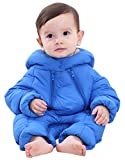 Baby Boys Hooded Duck Down Cotton Polyester