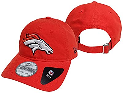 Denver Broncos New Era Core Shore 9TWENTY Adjustable Hat - Orange by New Era