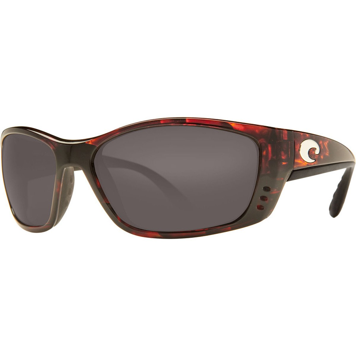 9182d4652b Amazon.com  Costa Del Mar Fisch Sunglasses Black   Copper 580Glass  Sports    Outdoors