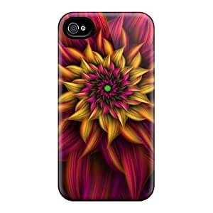 Tpu Case Cover For Iphone 4/4s Strong Protect Case - 4x4 Design