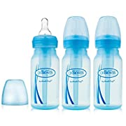 Dr. Brown's Baby Bottles Options 4 oz Blue - 3 Pack