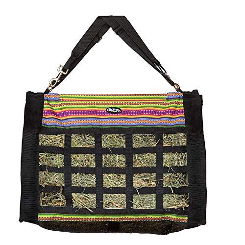 - Weaver Leather 35-1381-P17 Slow Feed Hay Bag, Fiesta Serape