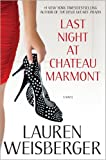 Last Night at Chateau Marmont, Lauren Weisberger, 1439197202