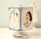 Fusicase Music Box,Enilys Creative New Rotating Photo Frame Music Box Christmas Birthday Gift Wedding Music Box