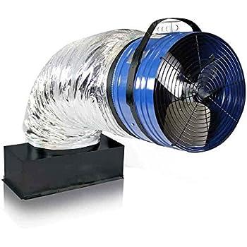 Cool Attic Belt Drive Whole House Fan 36in 9700 Cfm