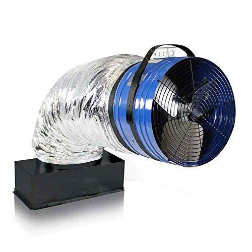 QuietCool QC CL-4700 Original Classic Fan (Whole House Ventilation Fan)