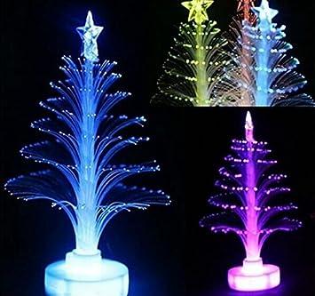 Amazon.com: Drhob 1piece Colorful LED Fiber Optic Nightlight ...