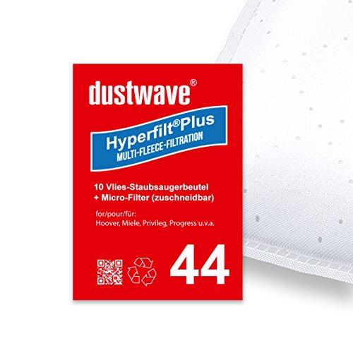 10 Staubbeutel geeignet für Miele-Staubsauger: S 8340 EcoLine, S 8730 HEPA, S5 Ecoline green, S 2121 u.v.a. von dustwave® - Made in Germany