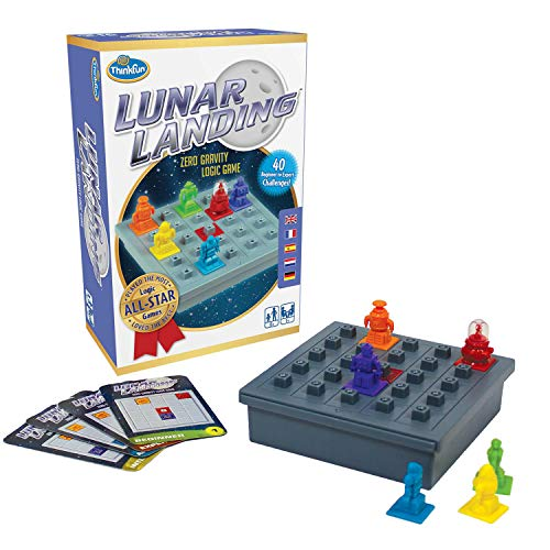 Think Fun Lunar Landing Logic Game and STEM Toy - from The Inventor of The Famous Rush Hour Game