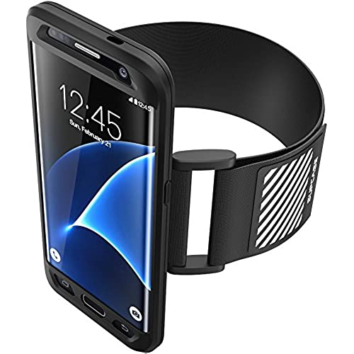 Galaxy S7 Edge Armband, SUPCASE Easy Fitting Sport Running Armband with Premium Flexible Case Combo for Samsung Sales