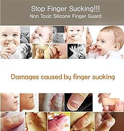 PONML Kids Baby Child Finger Guard Protect Index Finger Middle Finger ~Purple
