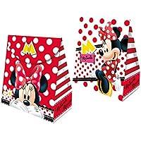 Caixa Surpresa Envelope Fa R 95 Red Minnie - Pacote Com 08 Un Regina Colorido