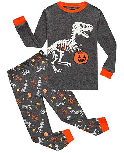 Dolphin/&Fish Boys Pajamas Little Kids Pjs Sets 100/% Cotton Toddler Clothes Sleepwears