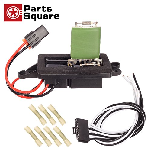 PartsSquare 89019088 Manual Blower Motor Resistor Replacement for CHEVROLET AVALANCHE 1500 2500,GMC YUKON XL 1500 2002-2006 Compatible with CHEVROLET SUBURBAN 1500 2500 2002-2007