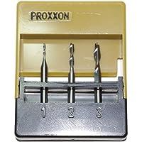 Proxxon 27 116 Conjunto de fresas de vástago