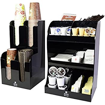 condiment organizer restaurant. Jenx 2 Piece Combo Acrylic Coffee Condiment And Accessories Organizer For Hotel Cafeteria Restaurant Tea