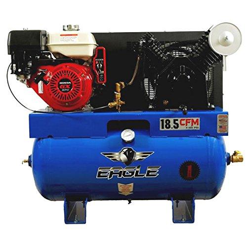 Eagle 9G30TRKE 30-Gallon 200 PSI Max Gas Powered Truck Mount Compressor