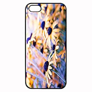 For Case Samsung Galaxy S3 I9300 Cover - flower autumn daisy coneflower yellow lilac Patterned Protective Skin Hard For Case Samsung Galaxy S3 I9300 Cover - Haxlly Designs Case