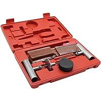 Kit de reparo de pneu KKmoon 57 peças para reparo de pneu plano para carro, caminhão, motocicleta, casa