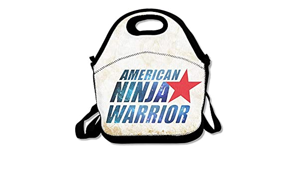 American Ninja Warrior Logo Reusable Lunch Bag/Backpack/Tote ...