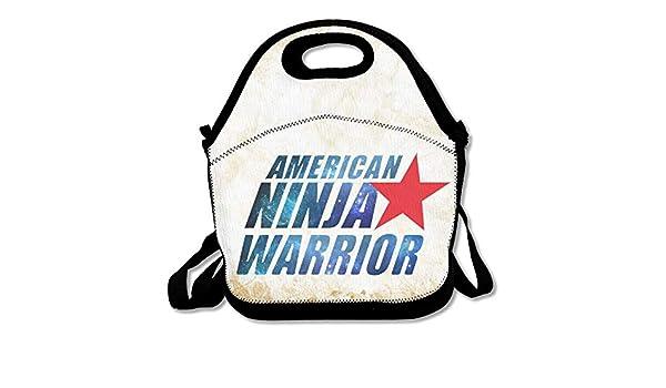 American Ninja Warrior Logo Reusable Lunch Bag/Backpack/Tote ...