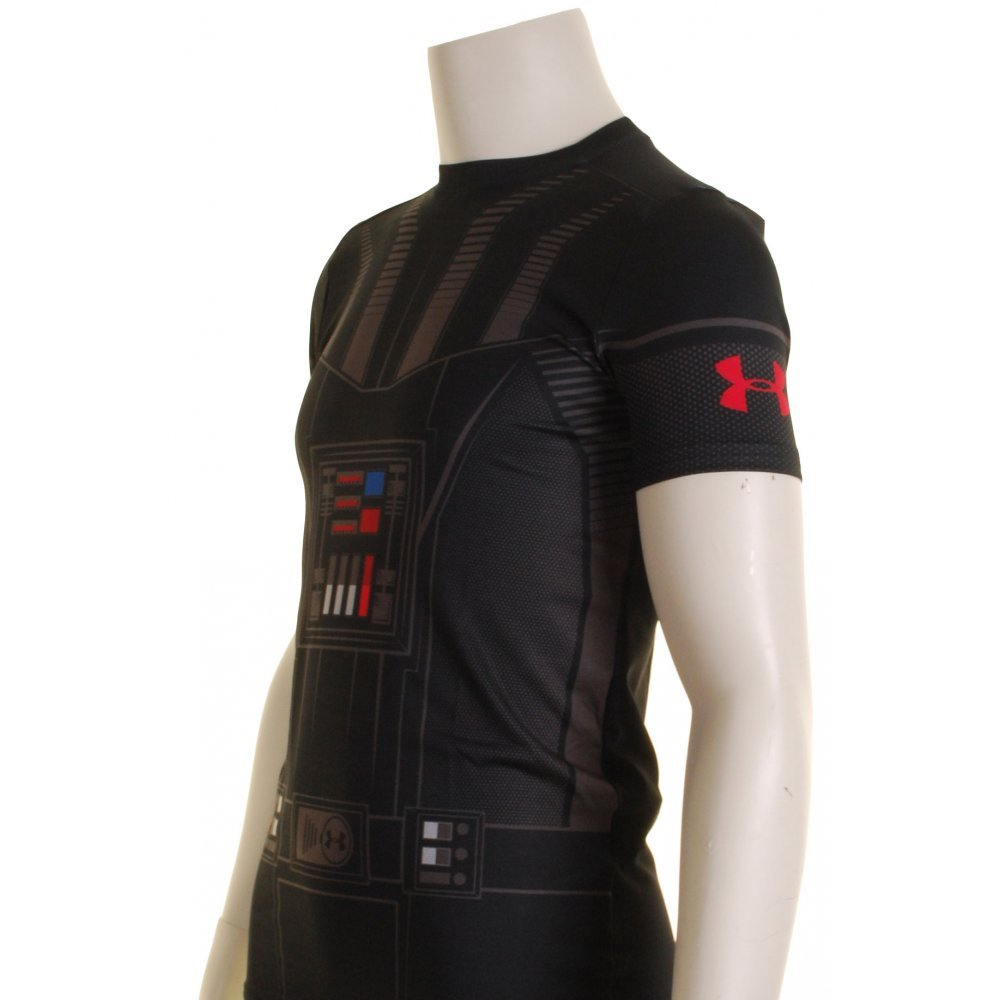 Under Armour Star Wars Compression Kids Base Layer Top X Small Vader by Under Armour (Image #2)