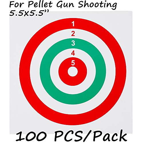 - GearOZ Airsoft Target Papers for Pellet Trap-Pellet Catcher-Target Holder