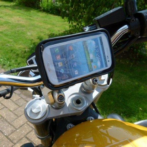 IPX4 Waterproof PRO Motorcycle Bike Handlebar Mount for Sams