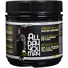 Rich Piana 5% Nutrition All Day You May BCAA & Joint Recovery Drink (Mango Pineapple) 17.2oz (465 Grams) 30 Servings